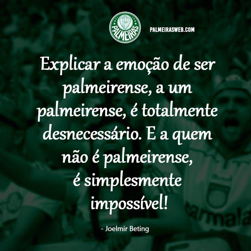 Frases do Palmeiras