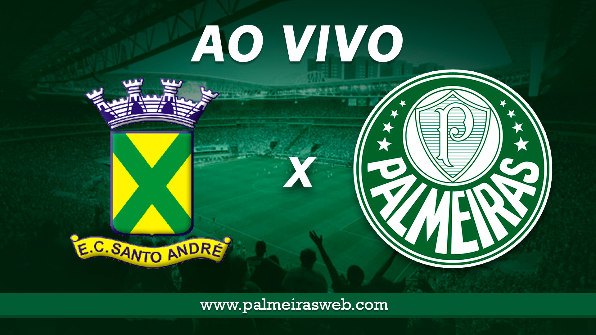 Santo André x Palmeiras AO VIVO