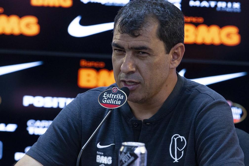 Carille visa meia do Palmeiras