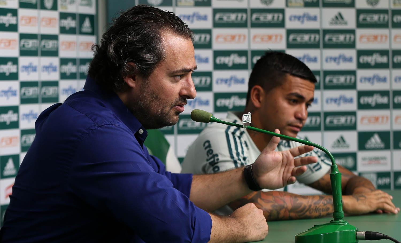 Dudu e Mattos no Palmeiras