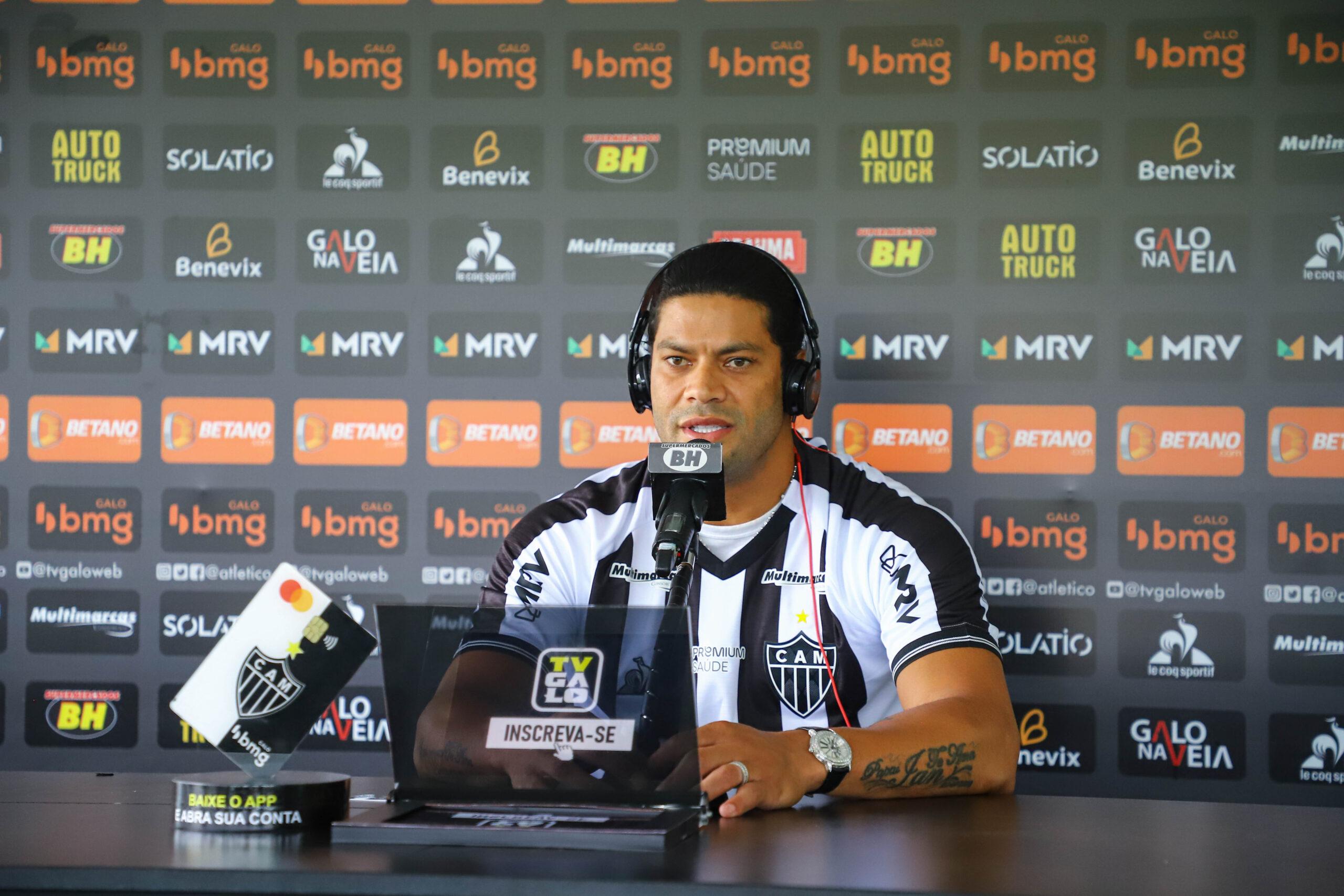Hulk falou sobre o Palmeiras